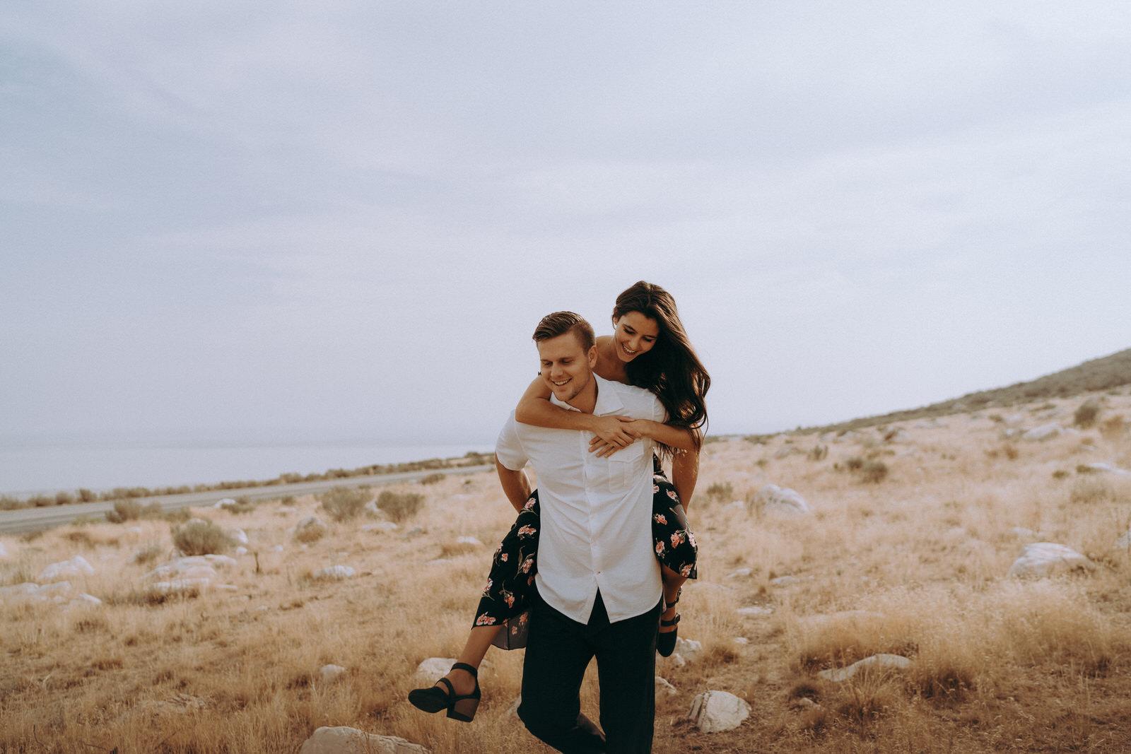 Antelope Island Engagement Photos- Utah Wedding Photographer- Gabrielle and Ethan-185.JPG