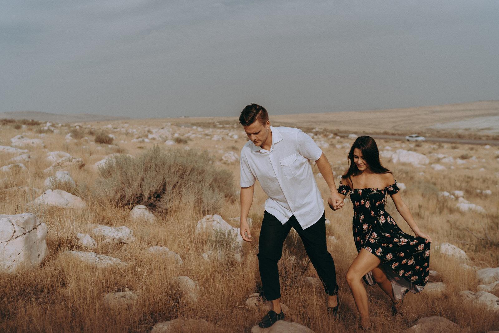 Antelope Island Engagement Photos- Utah Wedding Photographer- Gabrielle and Ethan-339.JPG