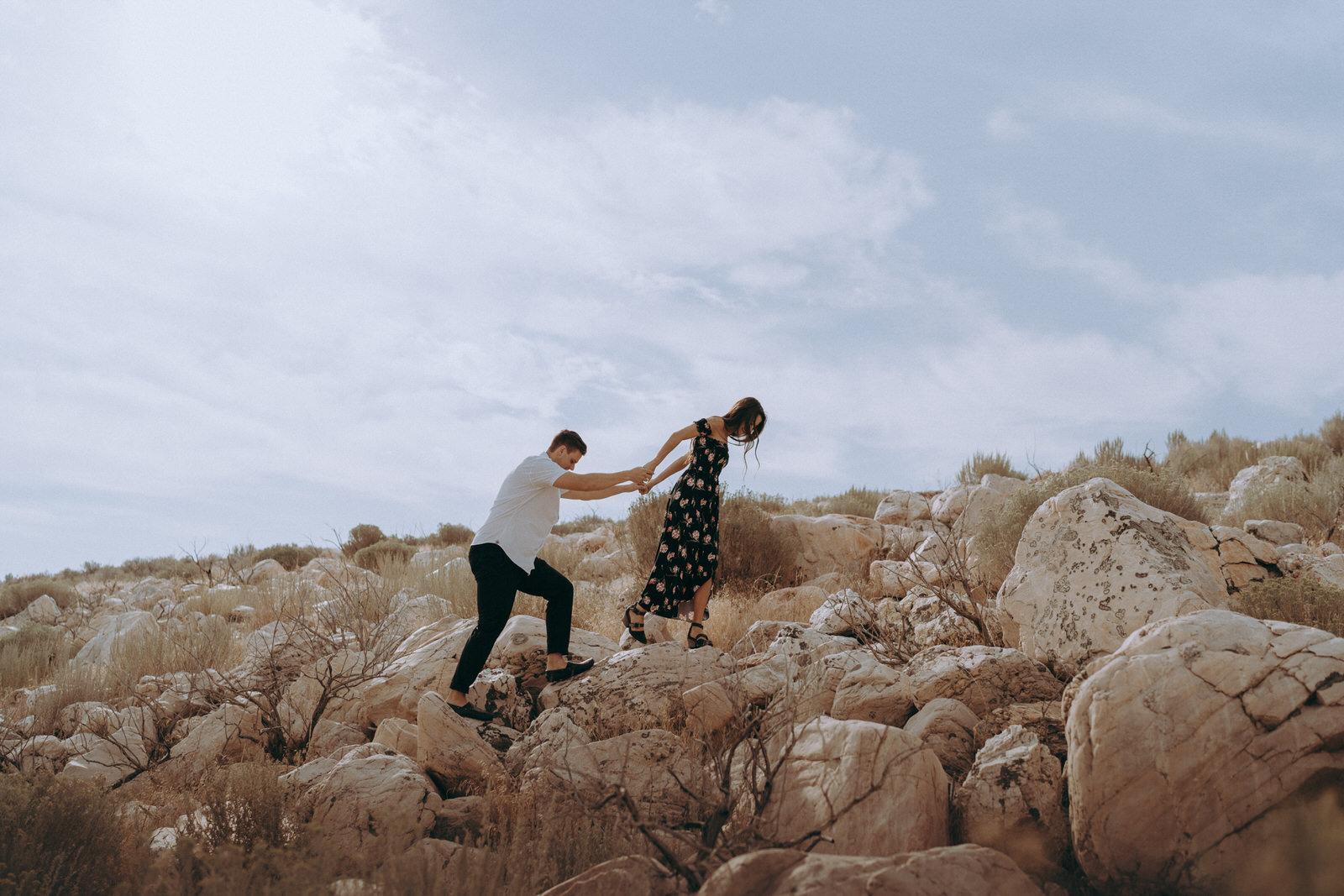 Antelope Island Engagement Photos- Utah Wedding Photographer- Gabrielle and Ethan-357.JPG