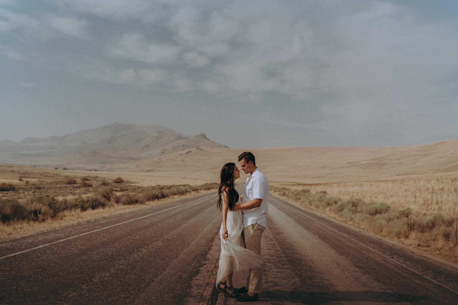 Antelope Island Engagement Photos- Utah Wedding Photographer- Gabrielle and Ethan-460.JPG
