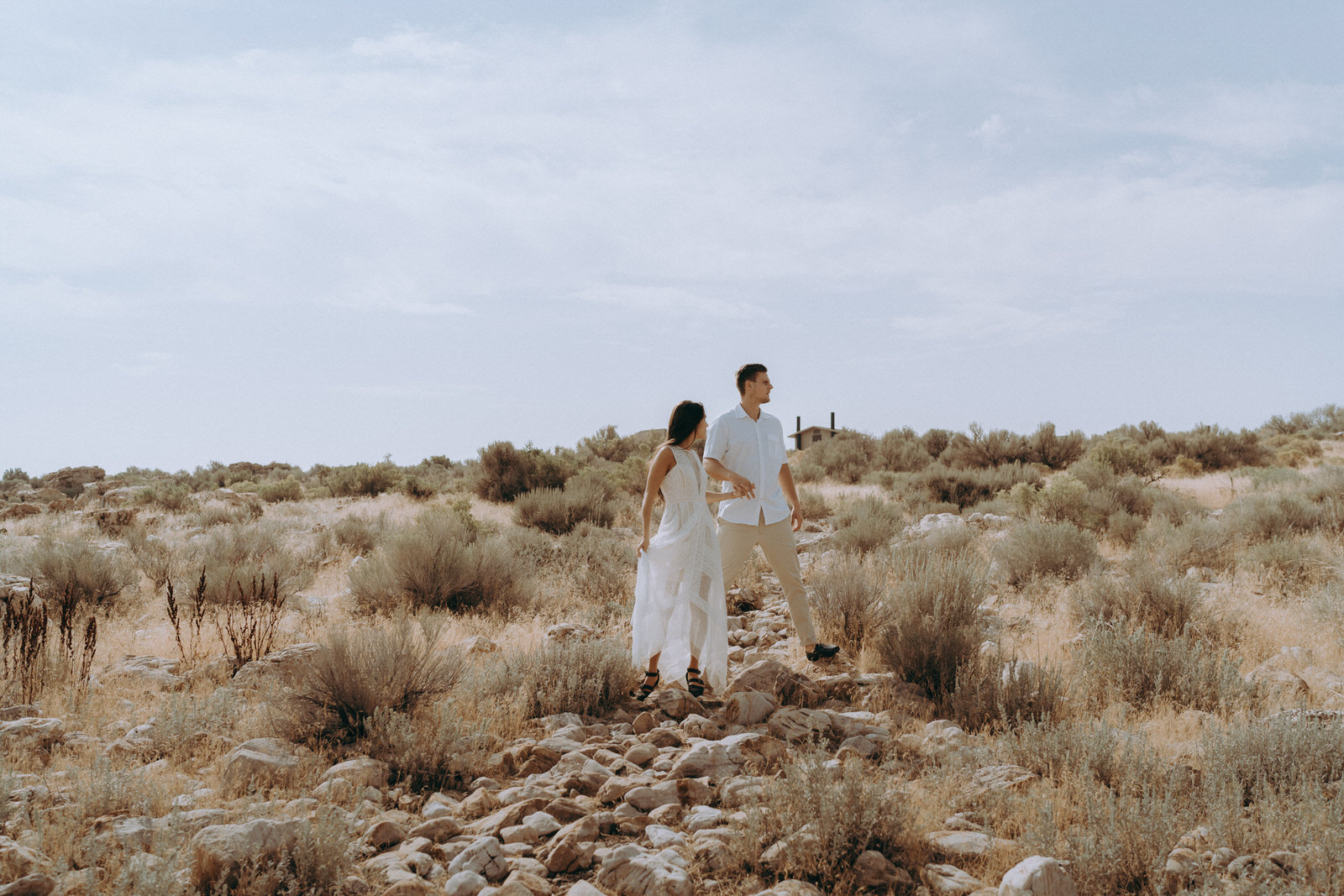 Antelope Island Engagement Photos- Utah Wedding Photographer- Gabrielle and Ethan-600.JPG