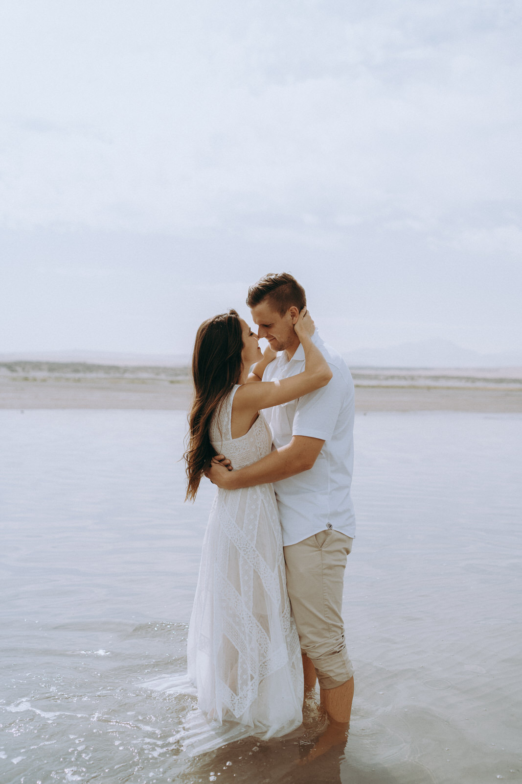 Antelope Island Engagement Photos- Utah Wedding Photographer- Gabrielle and Ethan-632.JPG