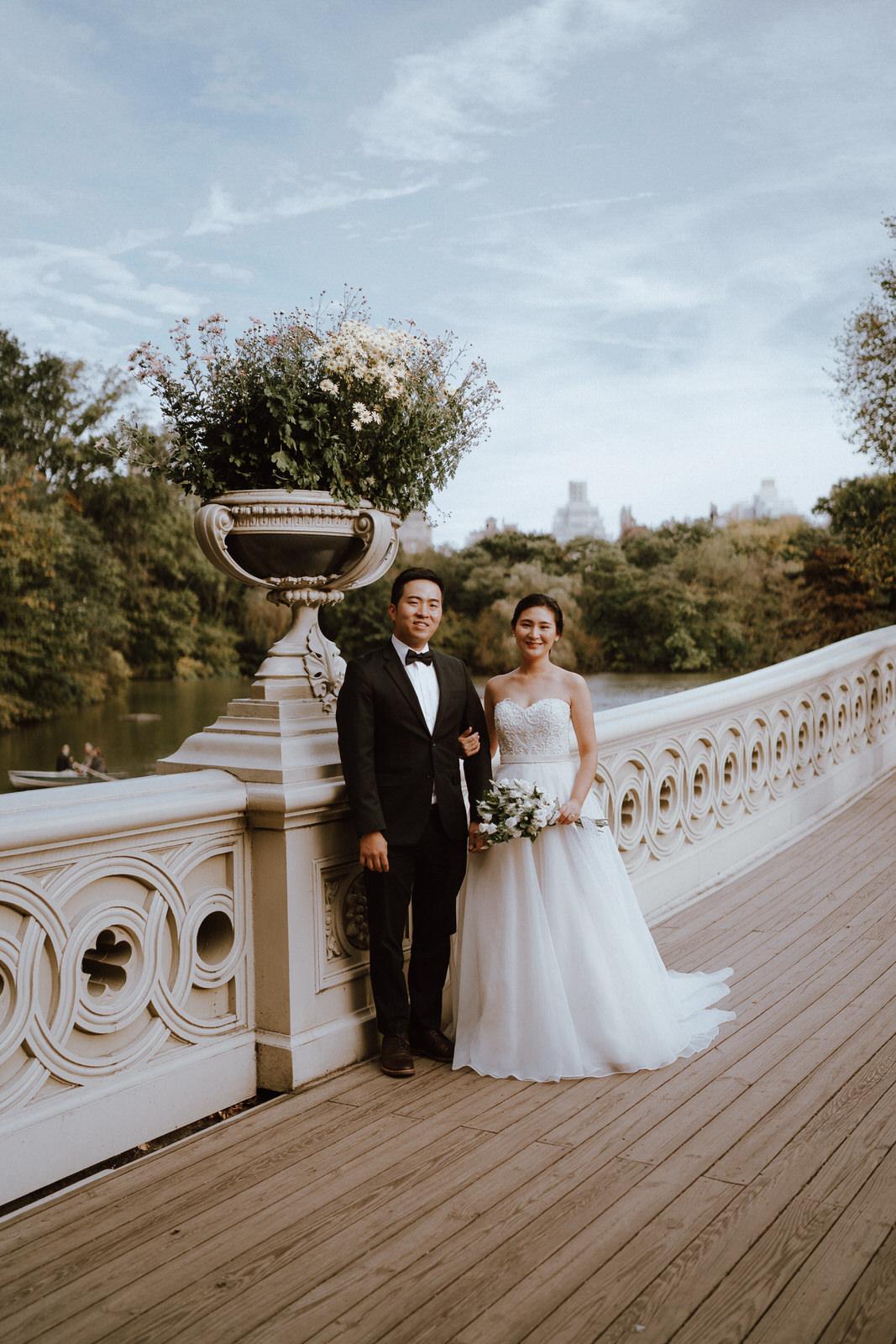 Central Park Elopement Photos-Bow Bridge-Michelle Gonzalez Photography- New York Wedding Photographer-1.jpg
