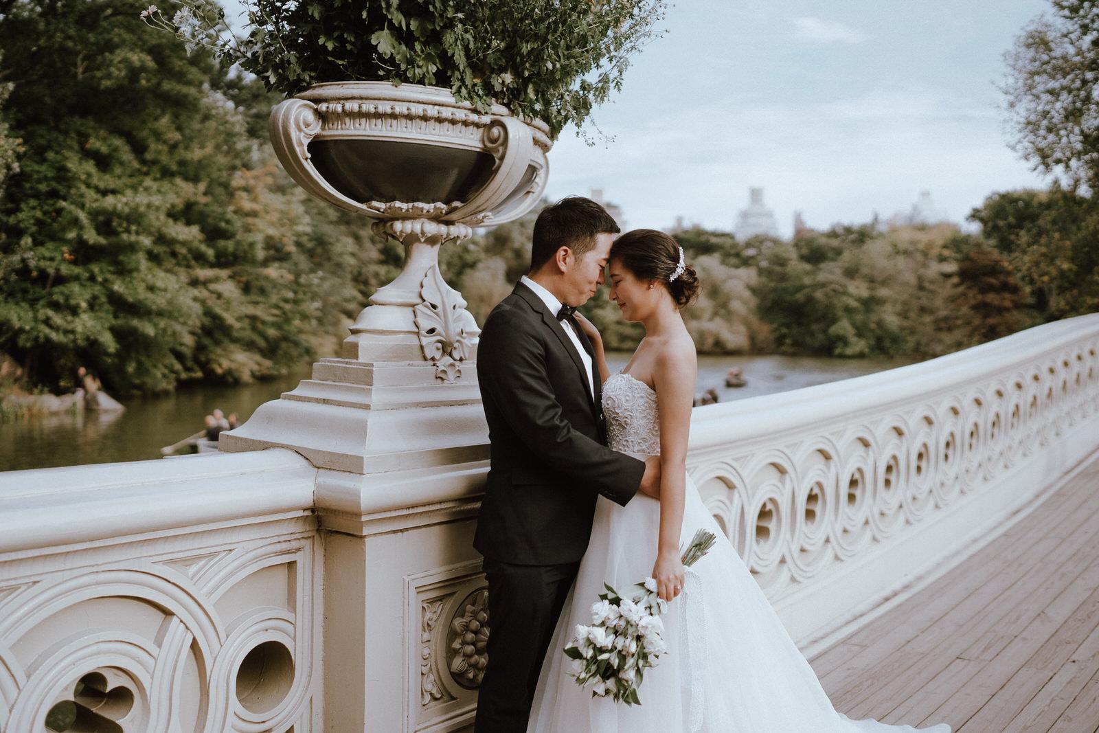 Central Park Elopement Photos-Bow Bridge-Michelle Gonzalez Photography- New York Wedding Photographer-4.jpg