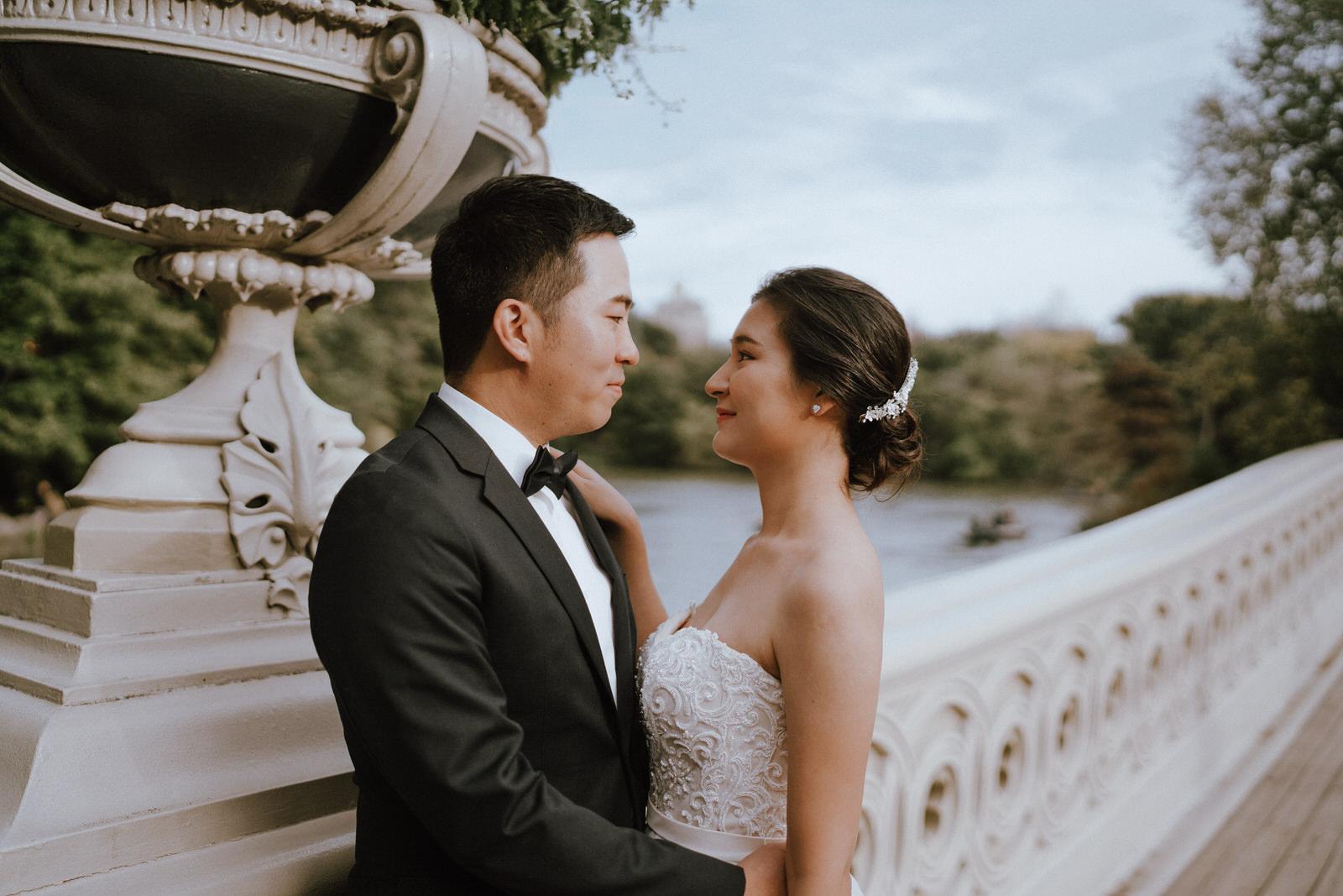 Central Park Elopement Photos-Bow Bridge-Michelle Gonzalez Photography- New York Wedding Photographer-7.jpg