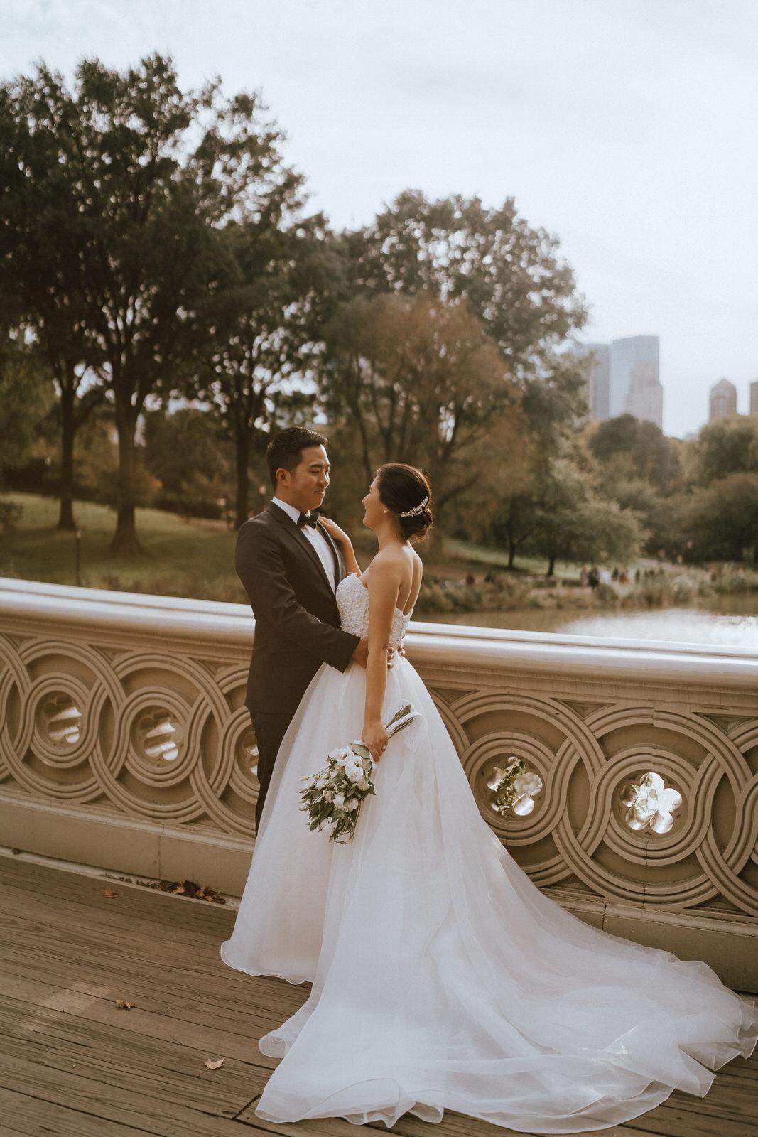 Central Park Elopement Photos-Bow Bridge-Michelle Gonzalez Photography- New York Wedding Photographer-17.jpg