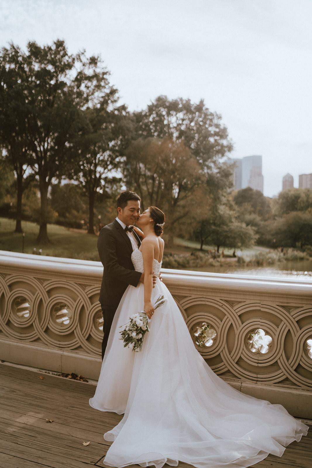 Central Park Elopement Photos-Bow Bridge-Michelle Gonzalez Photography- New York Wedding Photographer-19.jpg