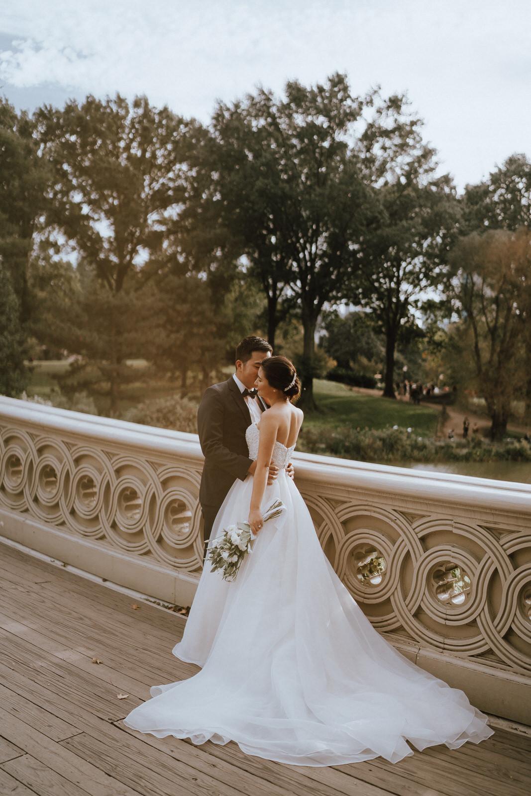 Central Park Elopement Photos-Bow Bridge-Michelle Gonzalez Photography- New York Wedding Photographer-21.jpg