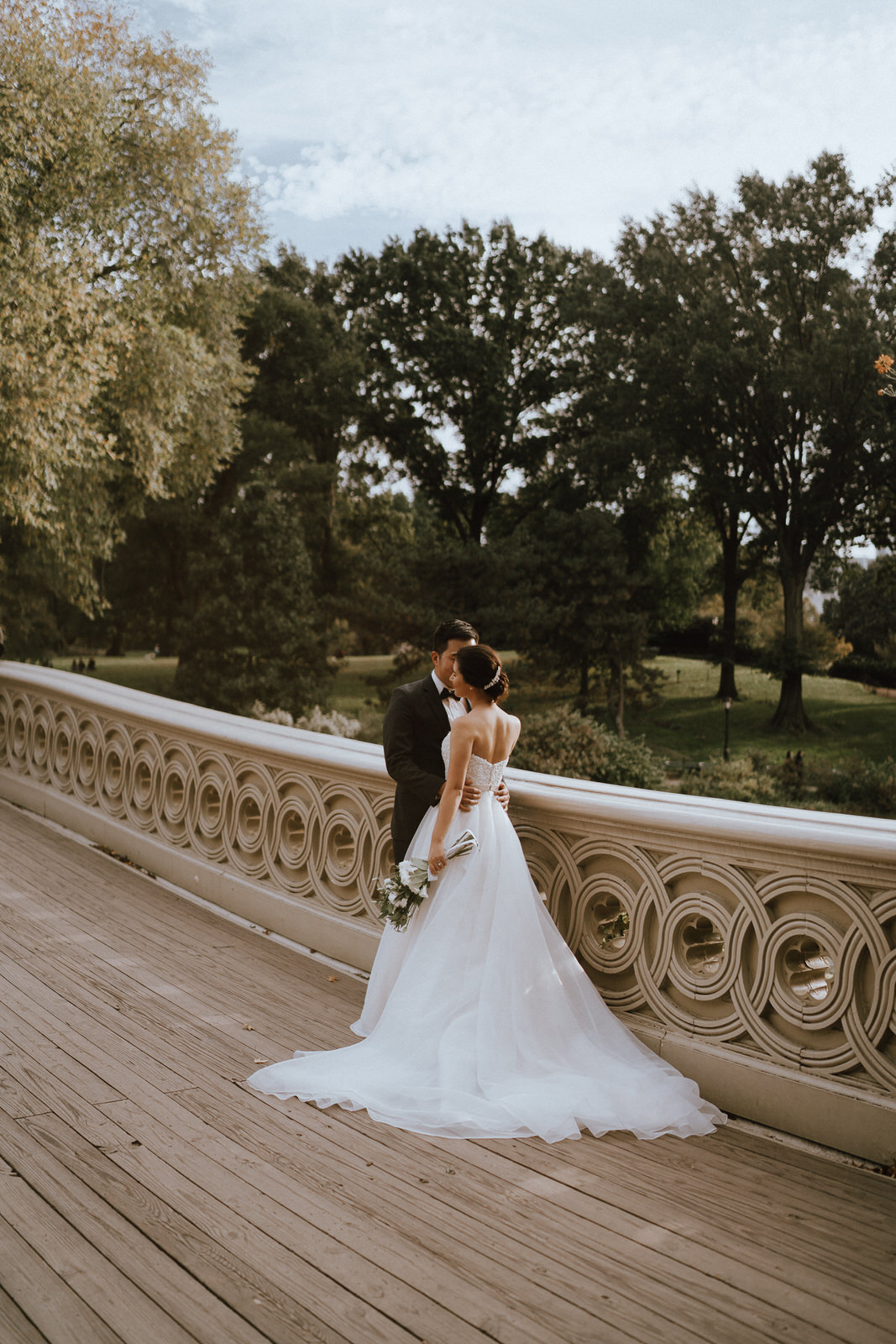 Central Park Elopement Photos-Bow Bridge-Michelle Gonzalez Photography- New York Wedding Photographer-23.jpg