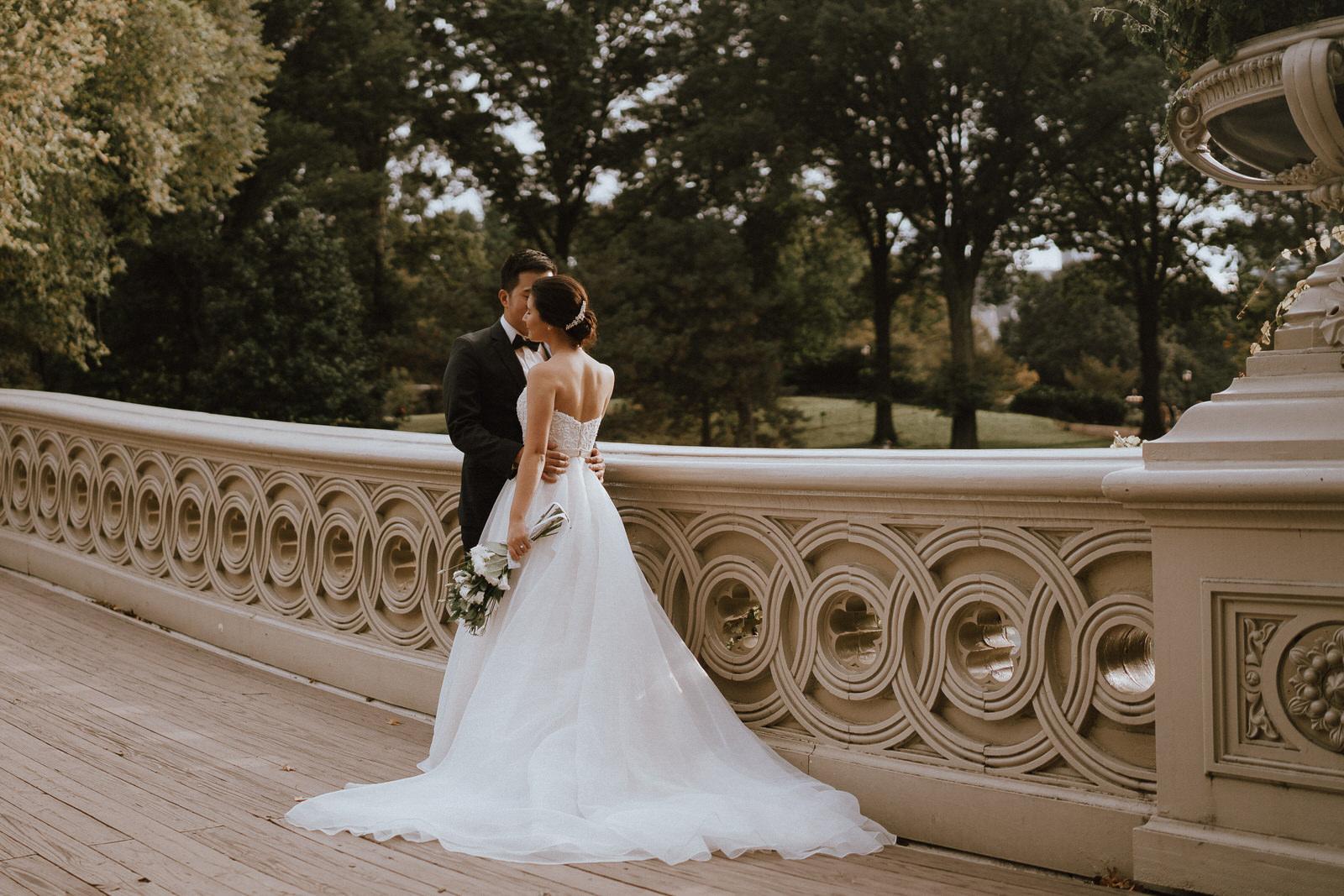 Central Park Elopement Photos-Bow Bridge-Michelle Gonzalez Photography- New York Wedding Photographer-25.jpg