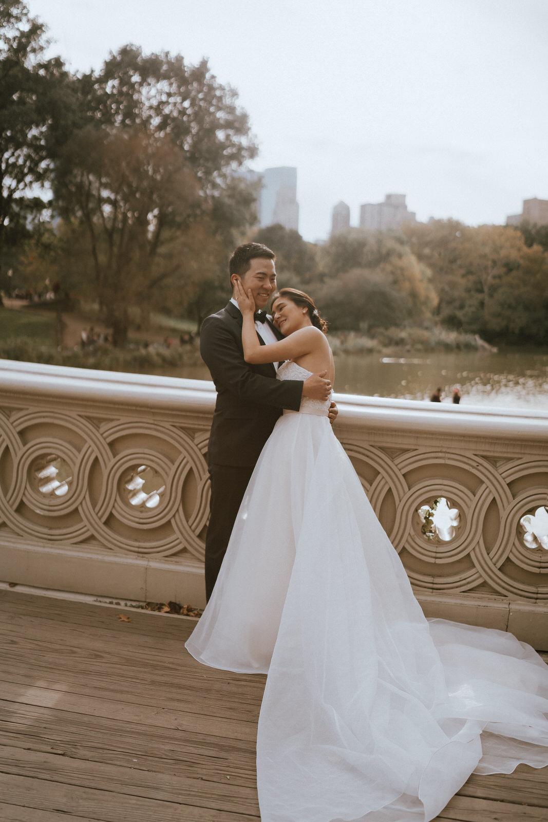 Central Park Elopement Photos-Bow Bridge-Michelle Gonzalez Photography- New York Wedding Photographer-28.jpg