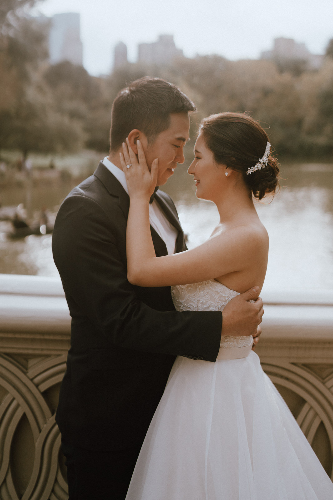 Central Park Elopement Photos-Bow Bridge-Michelle Gonzalez Photography- New York Wedding Photographer-31.jpg