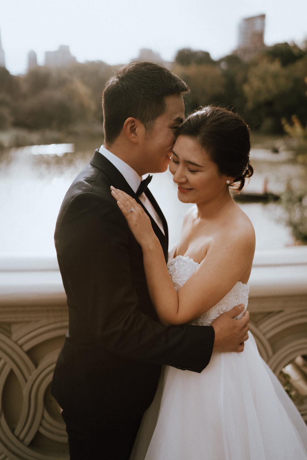 Central Park Elopement Photos-Bow Bridge-Michelle Gonzalez Photography- New York Wedding Photographer-44.jpg