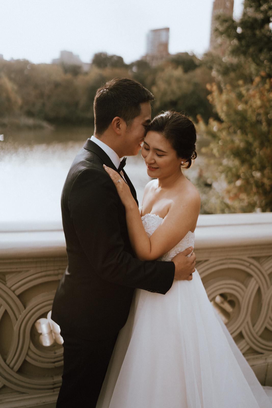 Central Park Elopement Photos-Bow Bridge-Michelle Gonzalez Photography- New York Wedding Photographer-45.jpg