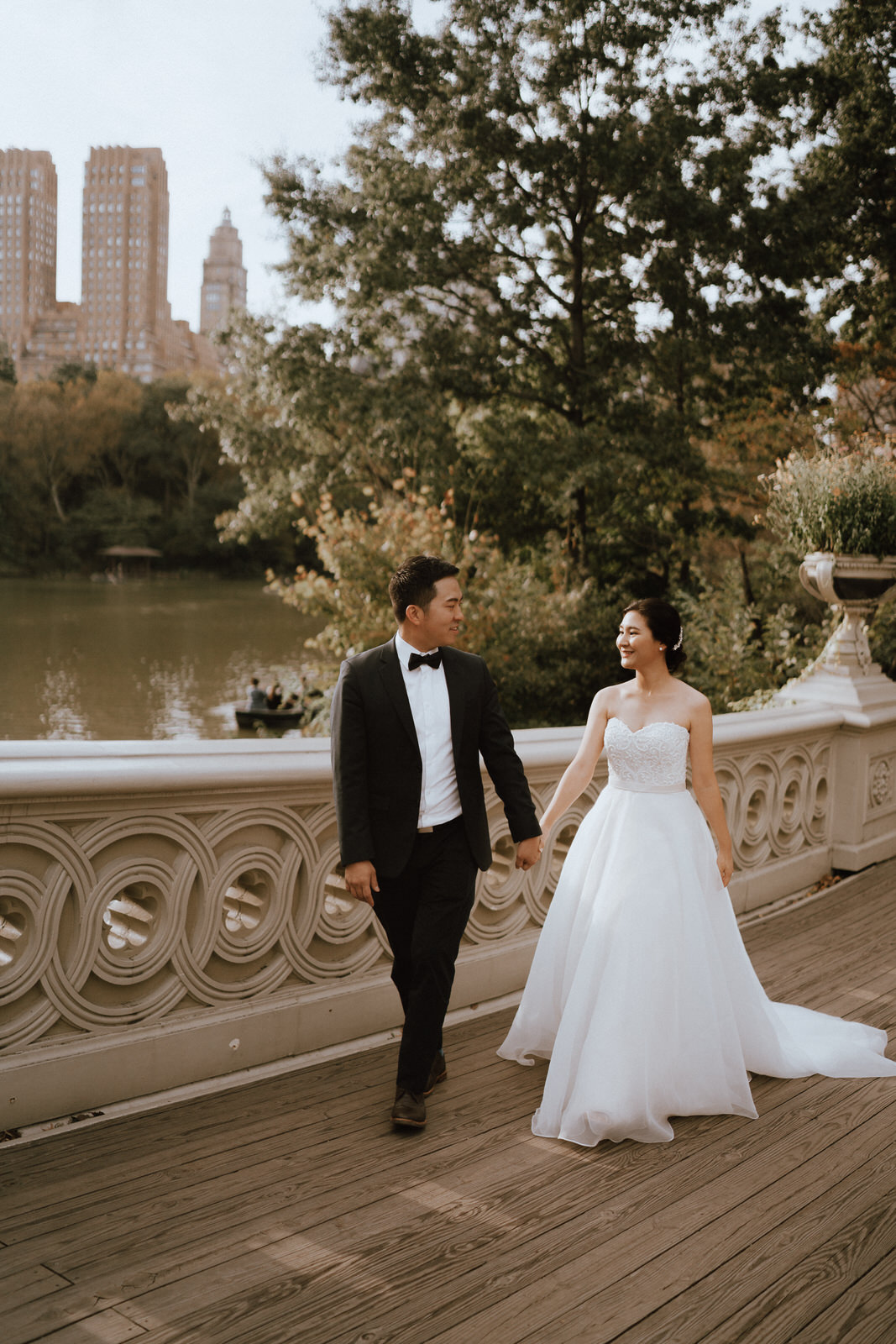 Central Park Elopement Photos-Bow Bridge-Michelle Gonzalez Photography- New York Wedding Photographer-48.jpg