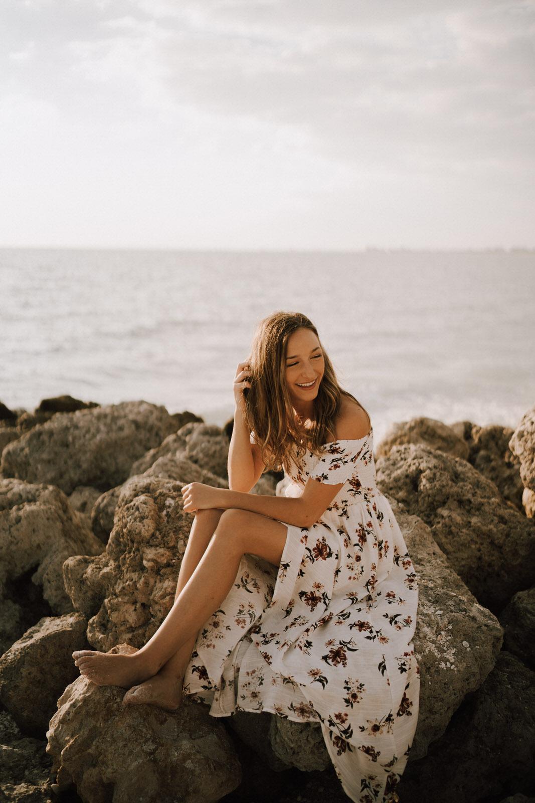 Fort Myers Senior Photos on Bonita Beach - Michelle Gonzalez Photography - Sammie-30.JPG