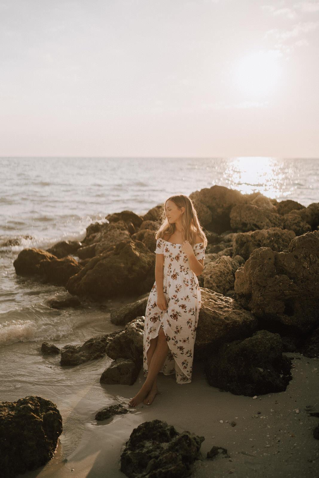 Fort Myers Senior Photos on Bonita Beach - Michelle Gonzalez Photography - Sammie-50.JPG