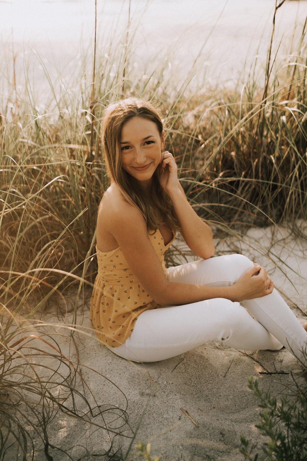 Fort Myers Senior Photos on Bonita Beach - Michelle Gonzalez Photography - Sammie-69.JPG