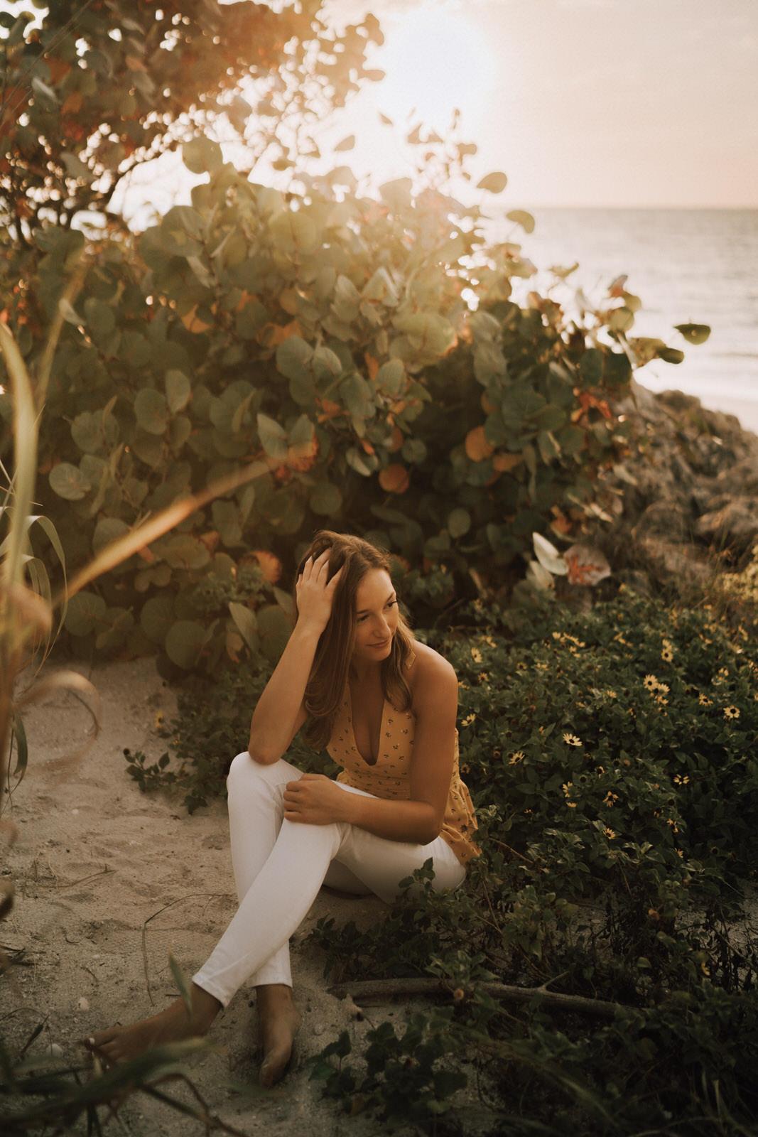 Fort Myers Senior Photos on Bonita Beach - Michelle Gonzalez Photography - Sammie-86.JPG