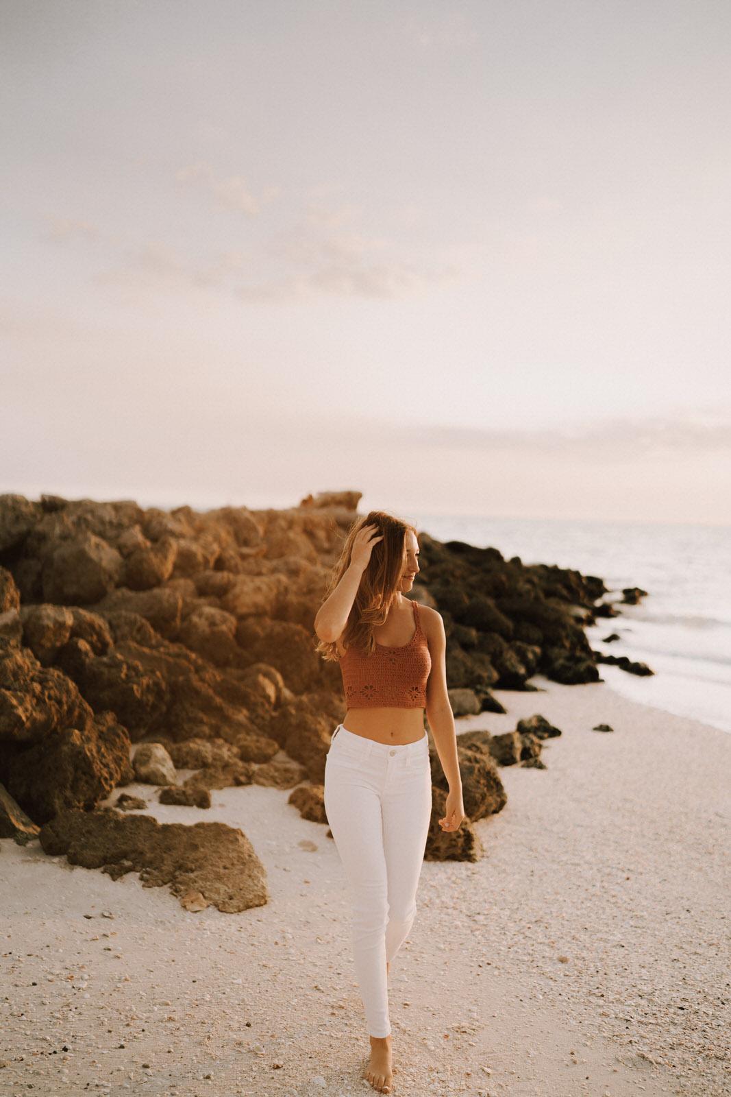 Fort Myers Senior Photos on Bonita Beach - Michelle Gonzalez Photography - Sammie-113.JPG