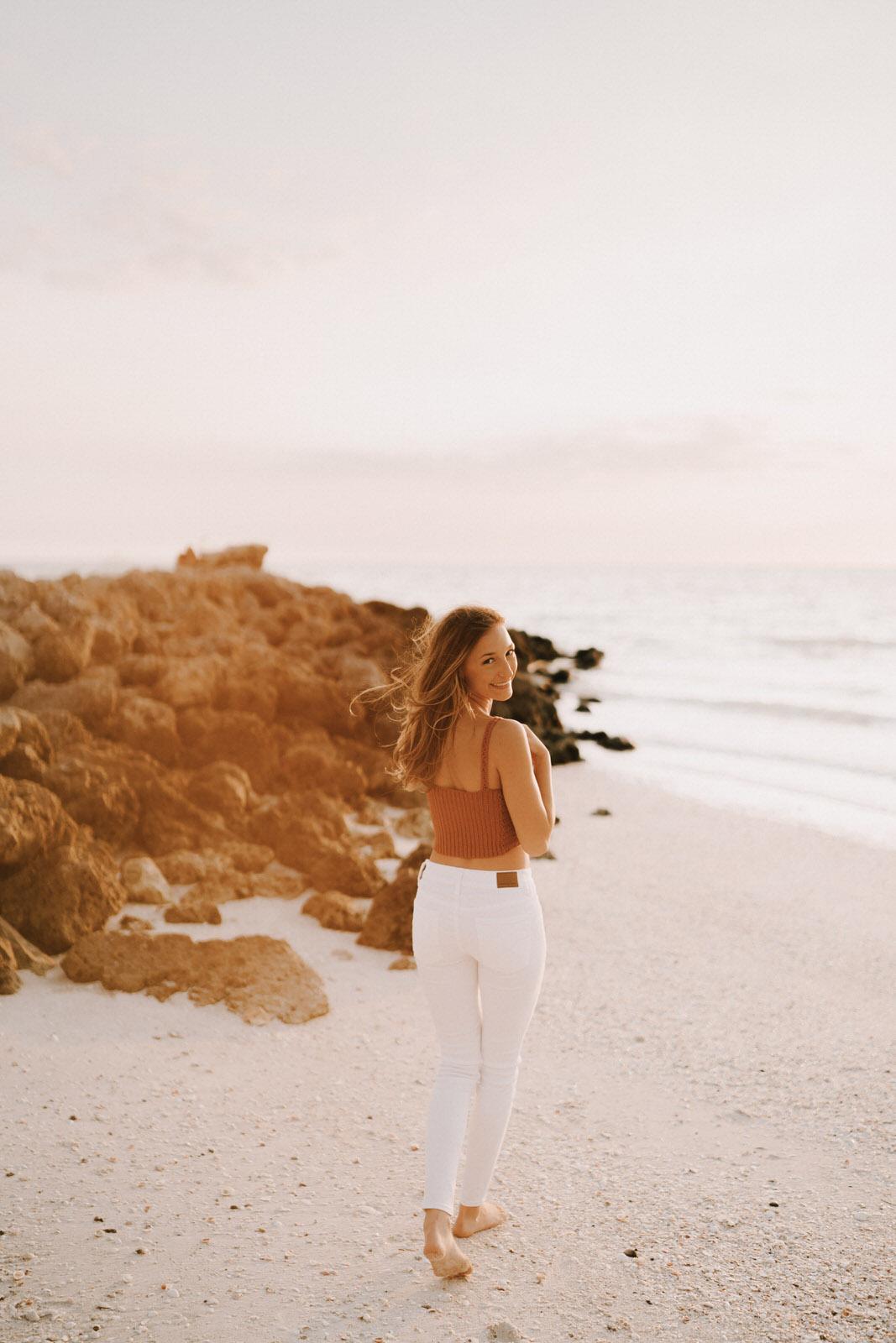 Fort Myers Senior Photos on Bonita Beach - Michelle Gonzalez Photography - Sammie-116.JPG