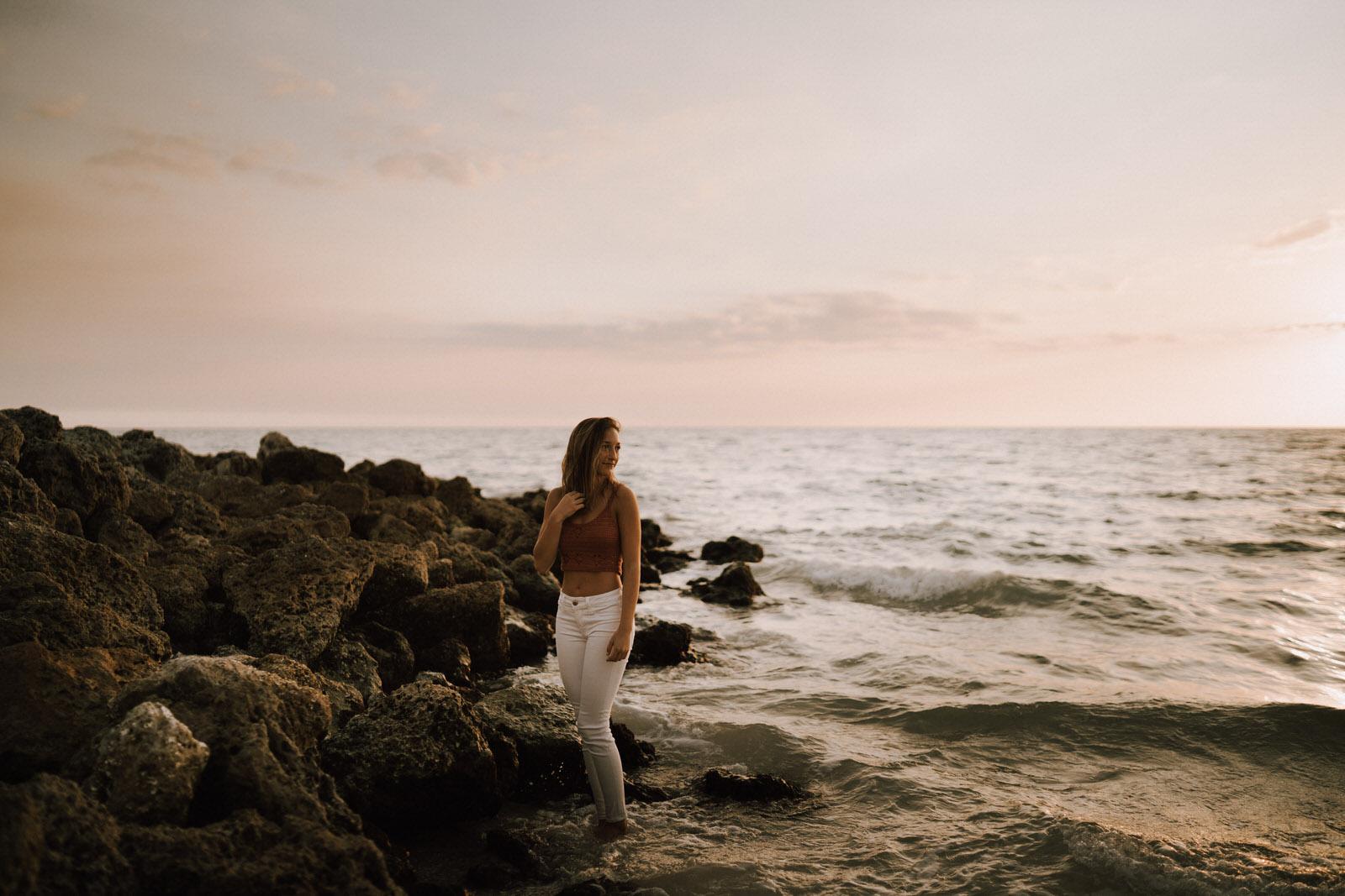 Fort Myers Senior Photos on Bonita Beach - Michelle Gonzalez Photography - Sammie-137.JPG