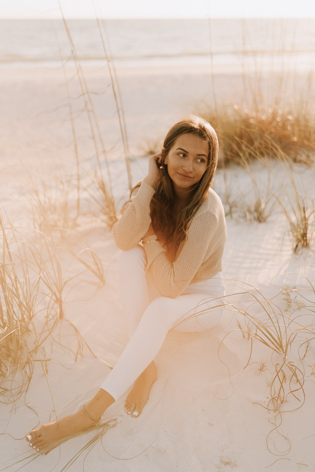 Fort Myers Senior Pictures at Lover's Key State Park- Michelle Gonzalez Photography- Skylar Becker-147.JPG