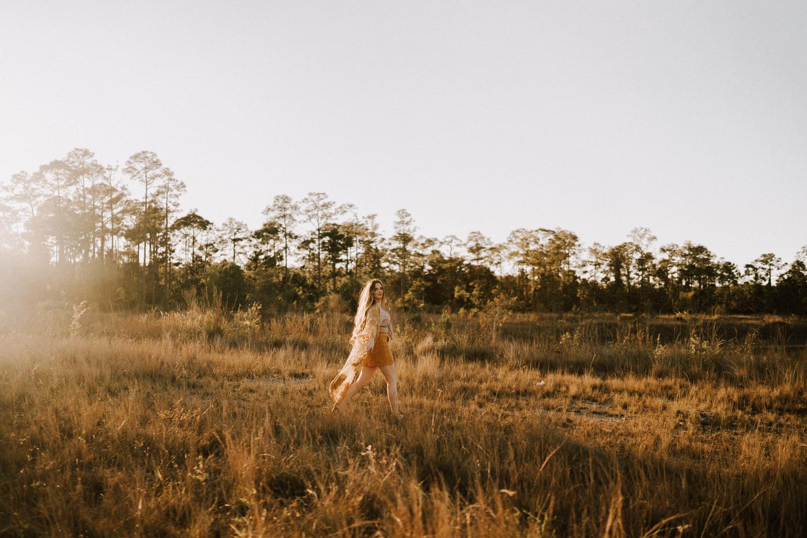 Fort Myers Senior Photos on a Field - Michelle Gonzalez Photography - Stephanie Blum-78.JPG