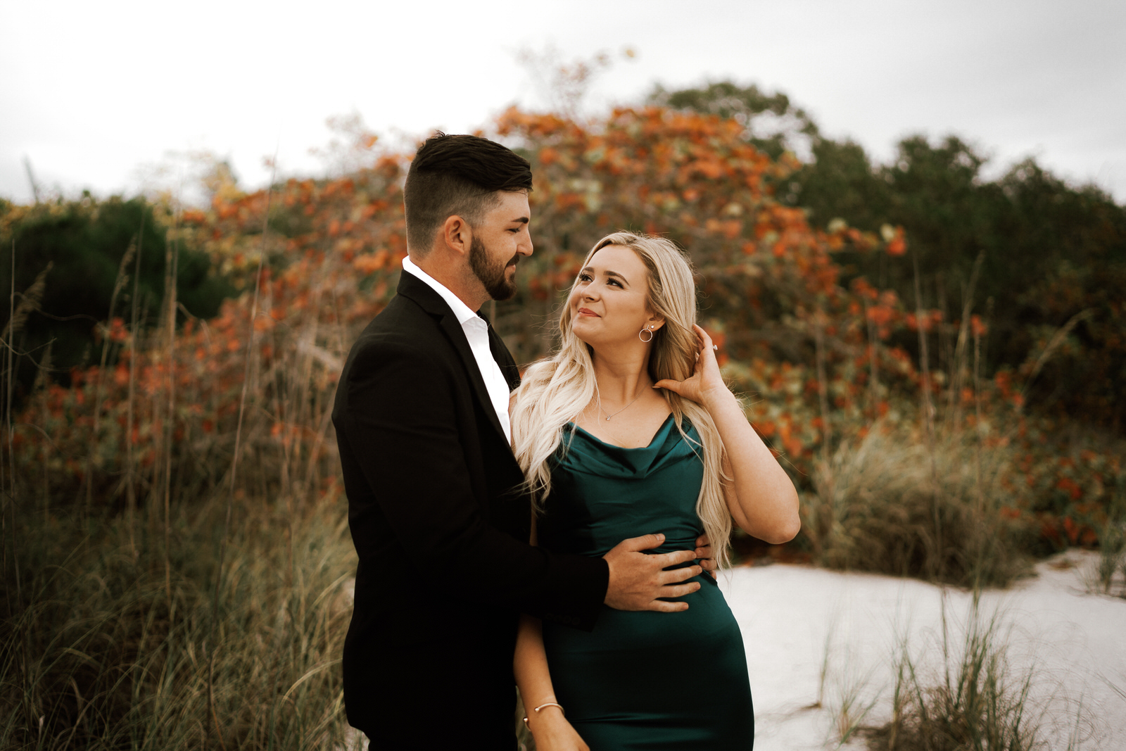 Lover's Key State Park Engagement Photos- Fort Myers Beach- Michelle Gonzalez Photography- Contessa and Ethan-178.JPG