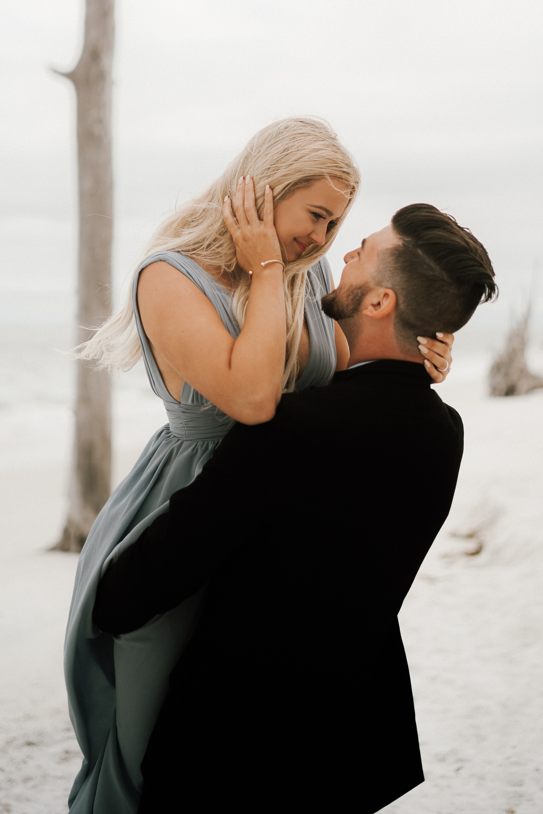 Lover's Key State Park Engagement Photos- Fort Myers Beach- Michelle Gonzalez Photography- Contessa and Ethan-388.JPG