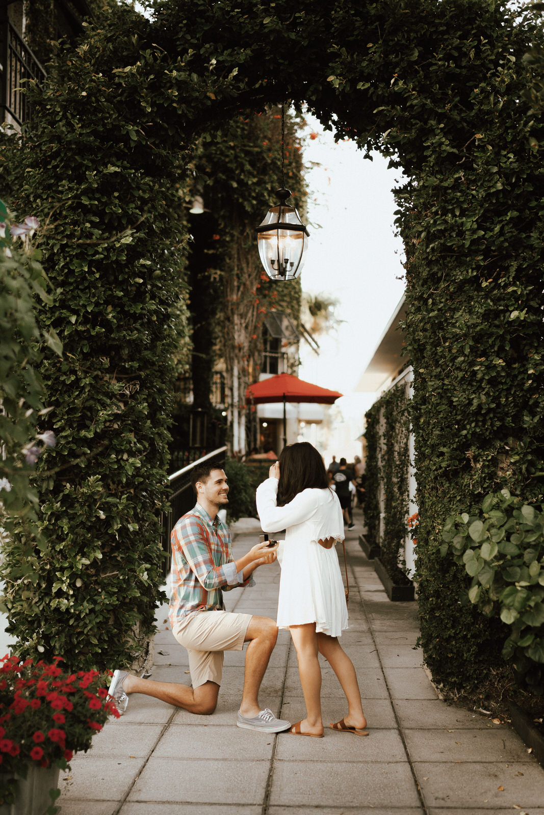 Naples 5th Ave Proposal Photos- Michelle Gonzalez Photography- Matt and Jenna-8.JPG