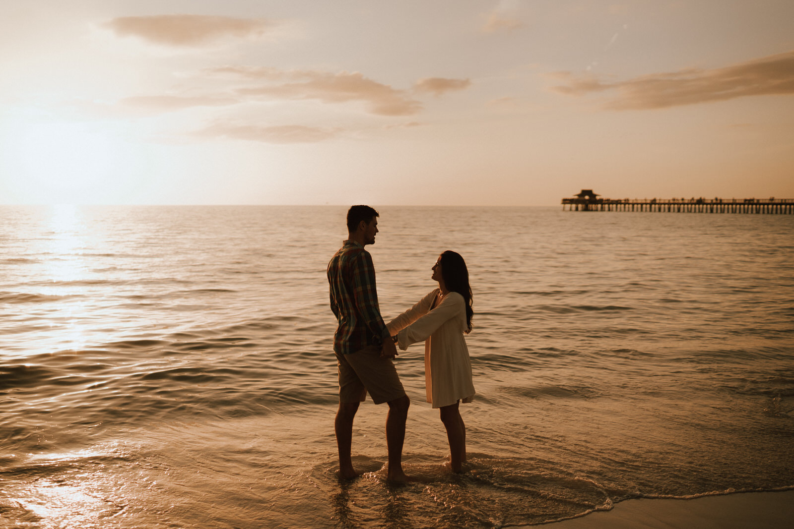 Proposal at Naples Beach Florida on 5th Ave - Michelle Gonzalez Photography- Matt and Jenna-135.JPG