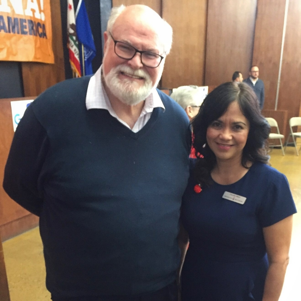 Jim Beall and Claudia