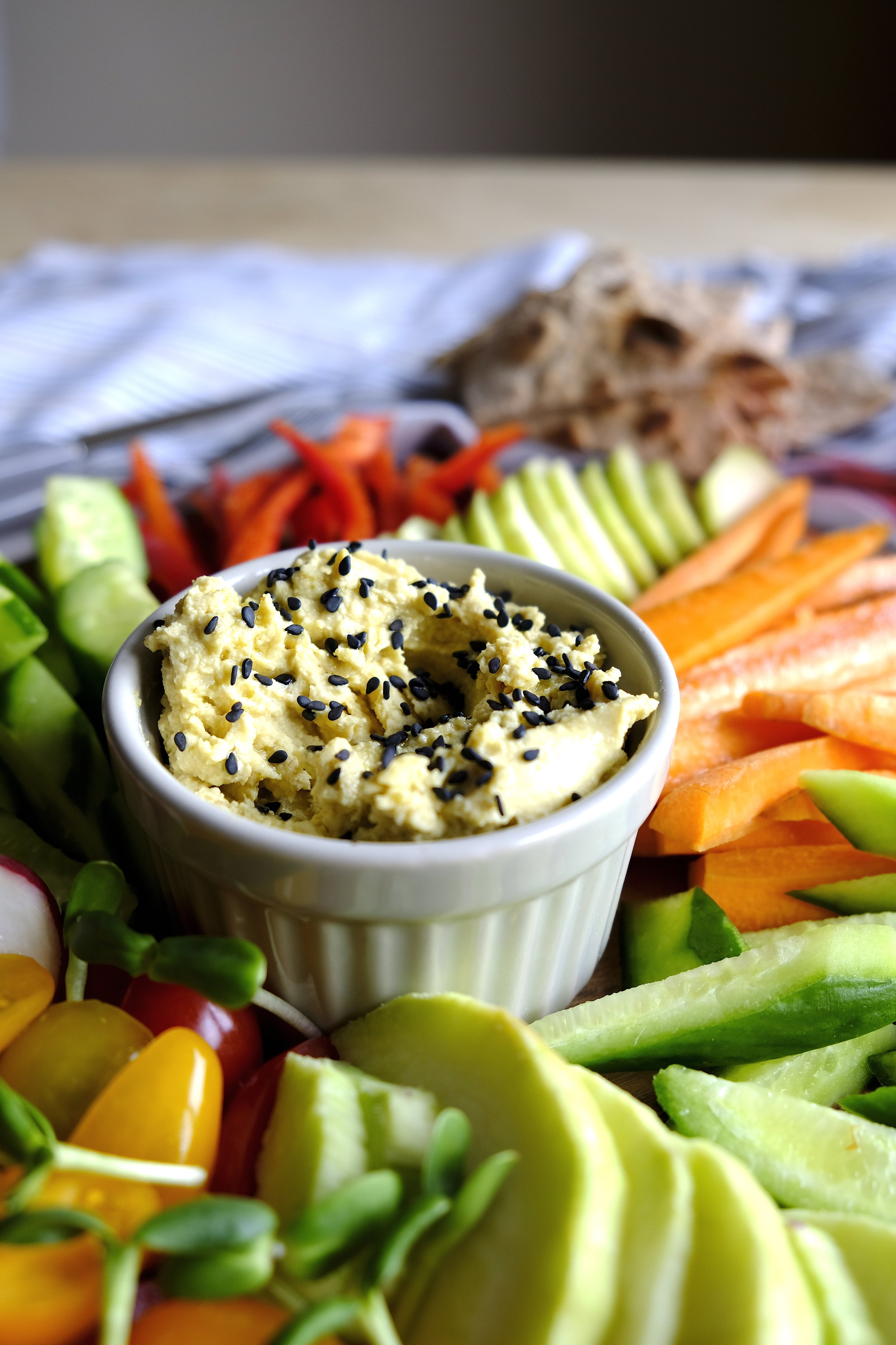 Homemade hummus healthy dinner_The Nature Project.JPG