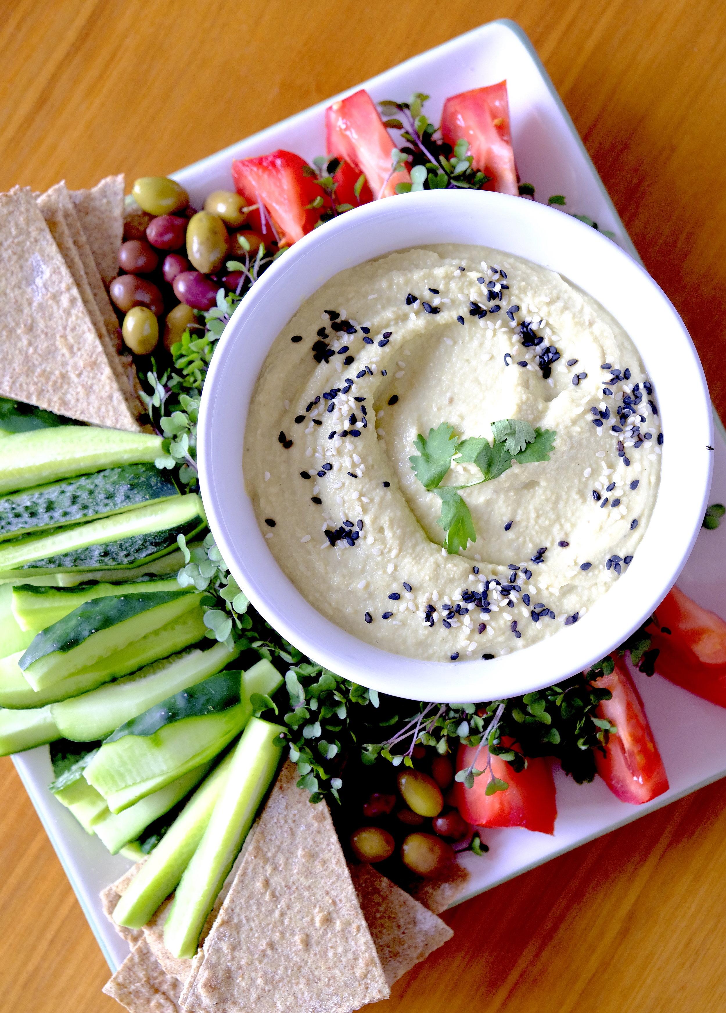 Hummus_summer salad_Dinner Stories.JPG