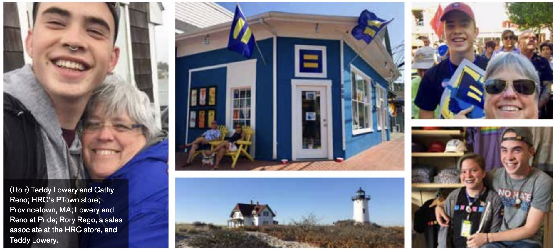 "EQUALITY - By Prianka Srinivasan EQUALITY, SPRING 2018Provincetown: How this Coastal town became a ""saving grace""for LGBTQ from the south."