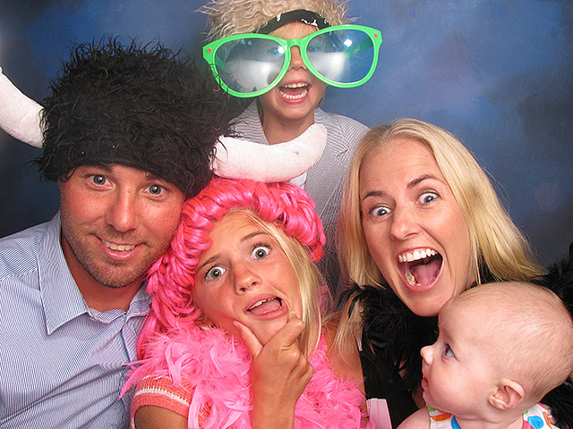 Best pictures from a photo booth in Indiana