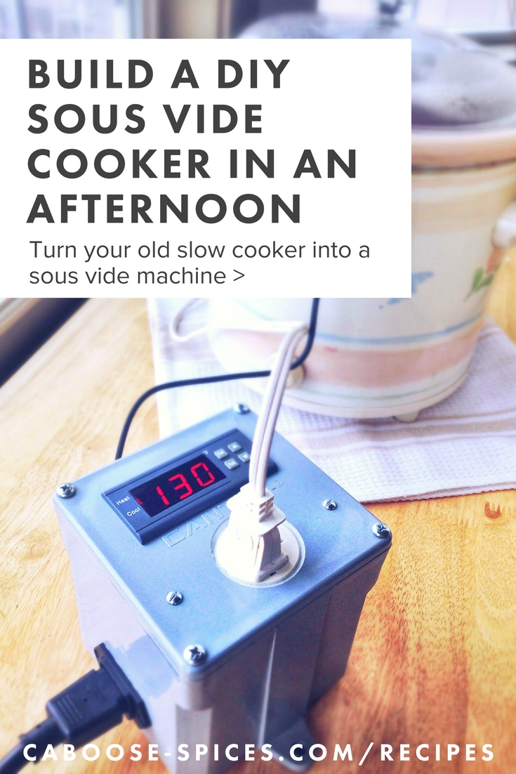 DIY Sous Vide Machine using an old crock pot.jpg