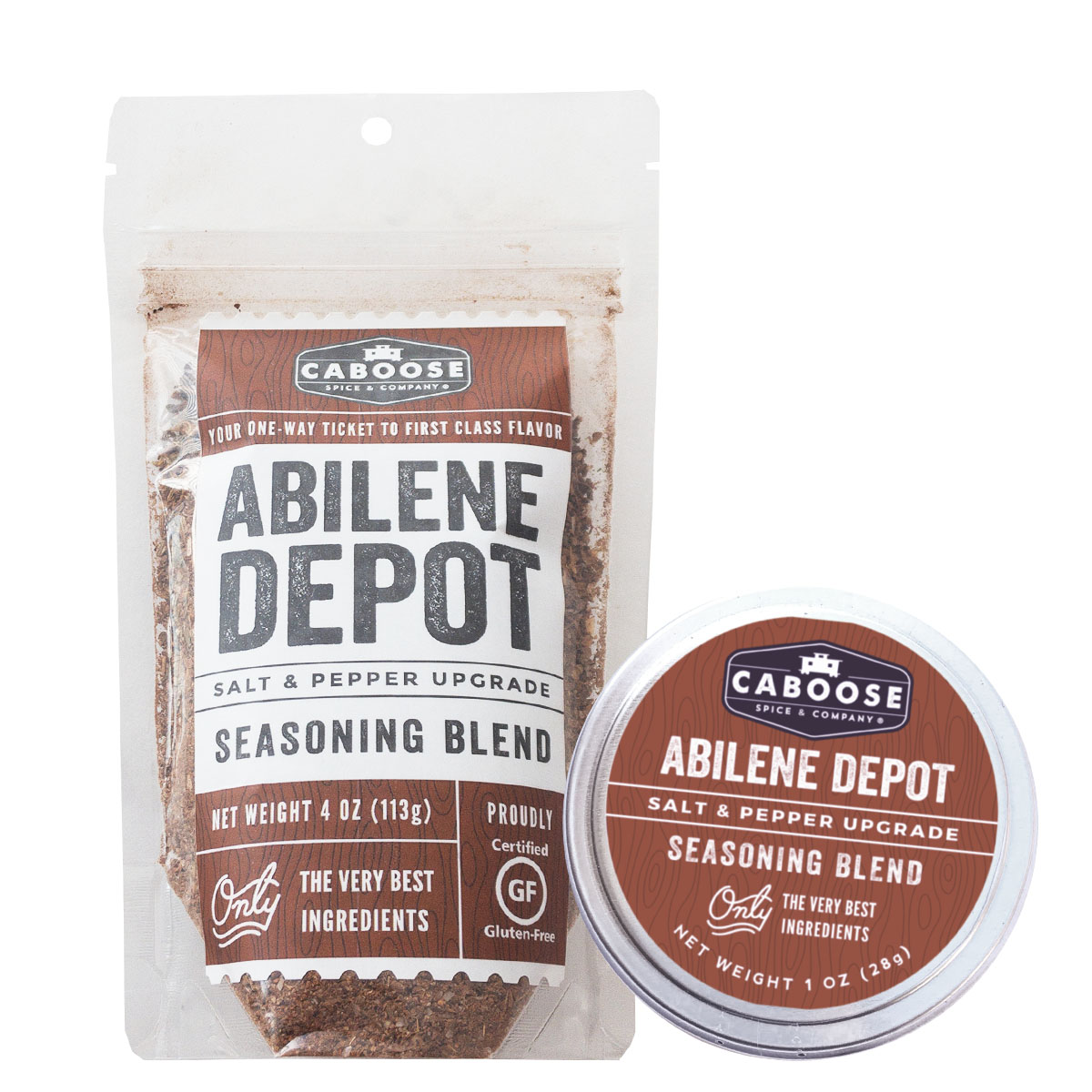 Caboose Spice & Co. Abilene Depot Seasoning Blend