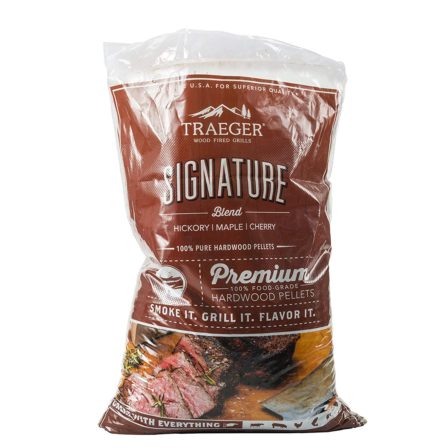 Traeger Signature Blend Hardwood Pellets