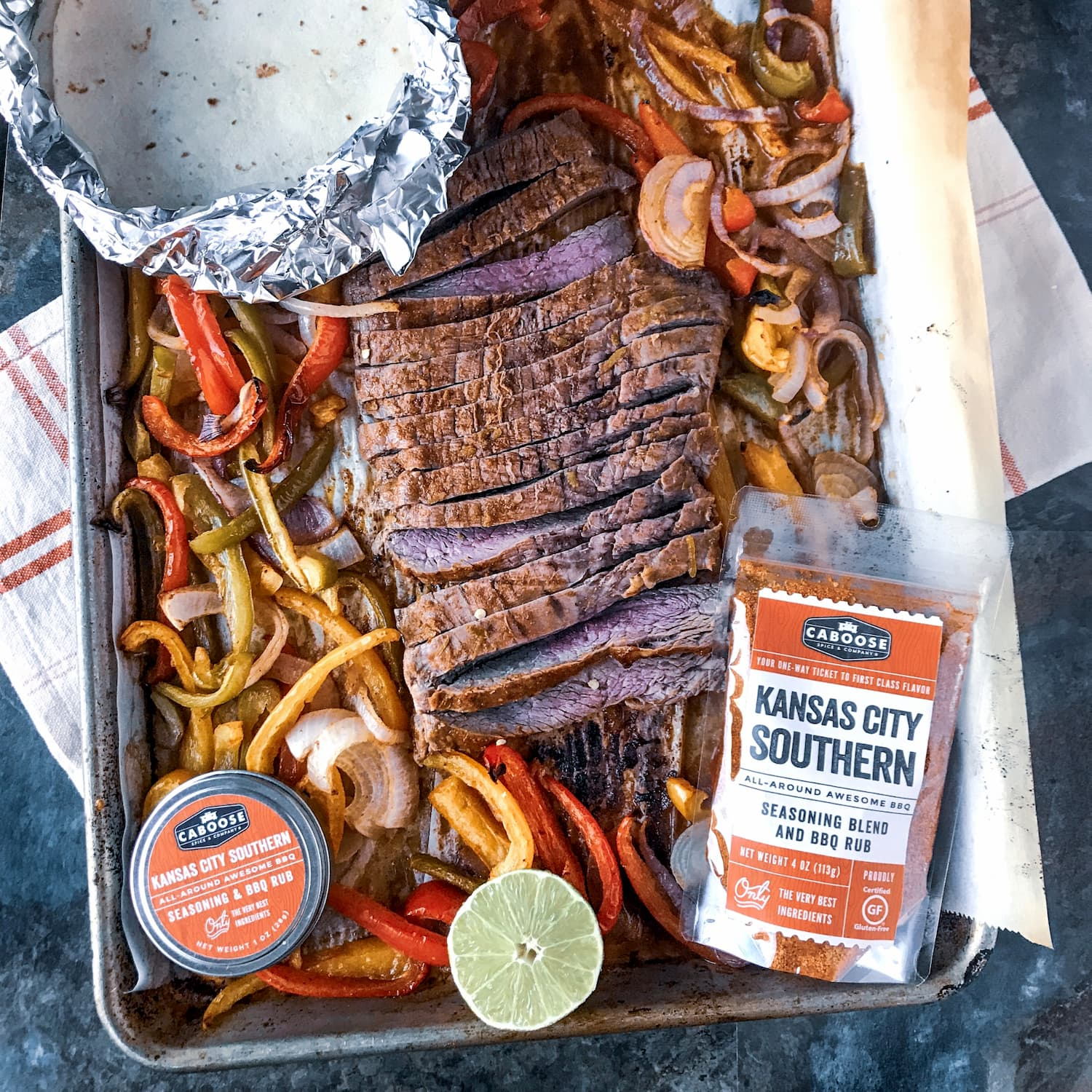Kansas City Southern on Sheet Pan Fajitas Recipe.jpg