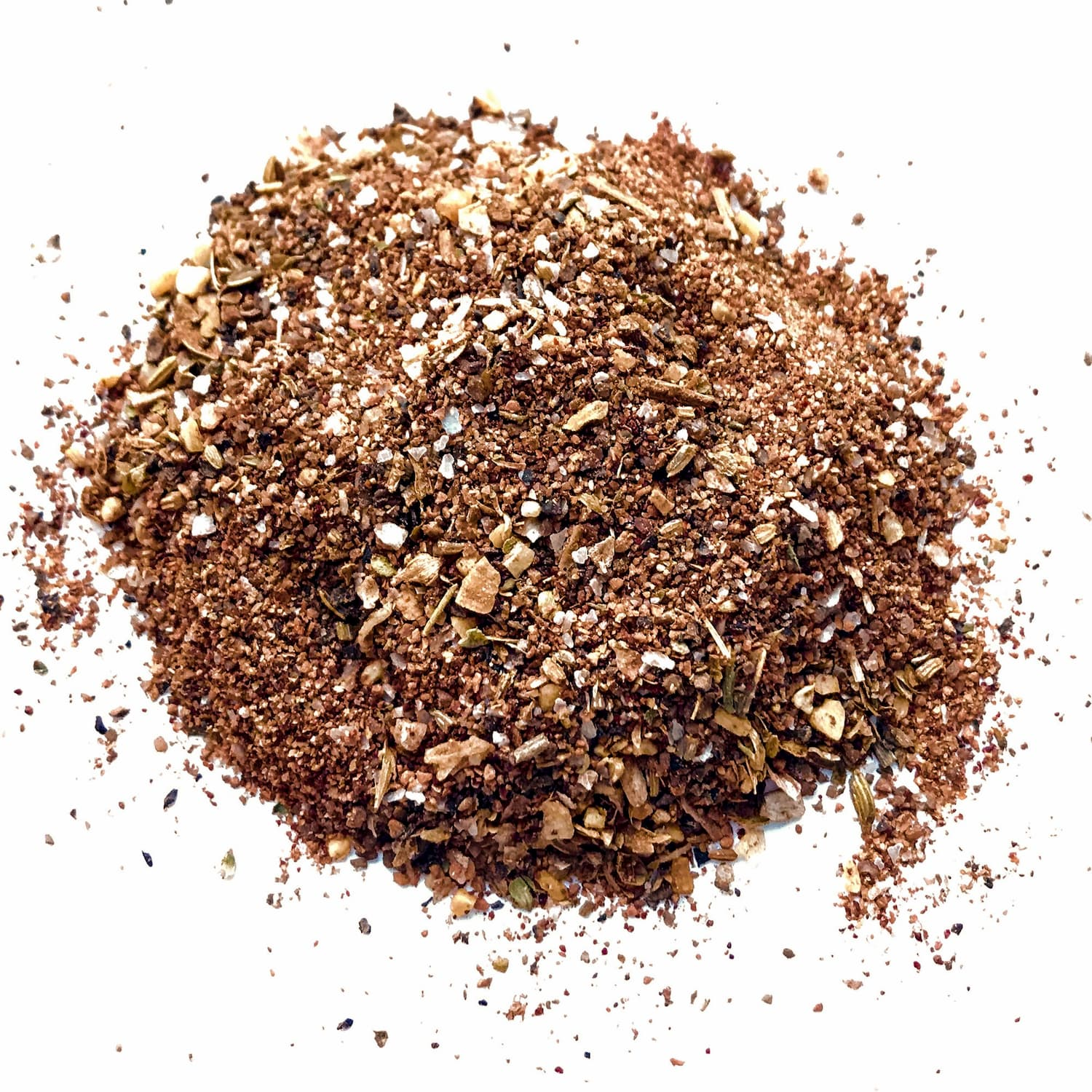 In this recipe: Abilene Depot blend - Think of Abilene Depot as your salt and pepper upgrade: smoked salt, coarse black pepper, fennel, and just a hint of cocoa will compliment nearly any dish and take it to the next level.✓ Certified Gluten-Free® ✓ Natural Ingredients ✓ No Sugar Added ✓ No PreservativesHeat level: MildFlavor Profile: smoky, savory, earthy, freshDelicious on: Beef (especially steaks & burgers), lamb, wild game, chicken, baked potatoes, grilled veggies, green salads, anywhere you'd use salt & pepper