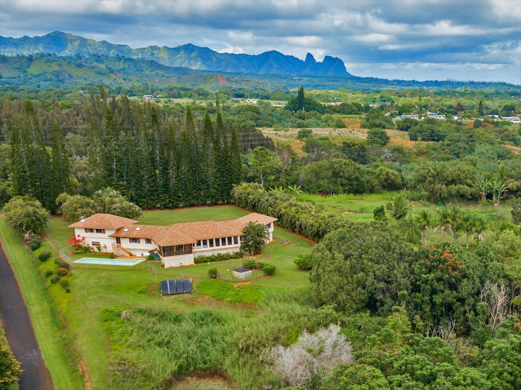 6101-A WAIPOULI RD - Kapaa, HI - MLS#612188   - $1,289,000MLS:612188 | Residential | Detached |Fee Simple, Full Ownership | 3 Bed, 3.00 Bath | Living: 3,382 Sq Ft | Land: 5.10 ac | Built: 1990 | 4-4-4-3-115Active DOM:64CSB: 2.5+GET,Restrictions: None