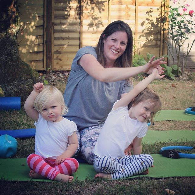 Hands up for a bit more Pilates 🙋‍♀️ Halfway through the holidays and as ever the amount of Pilates I've managed to fit in, has dramatically reduced! A little bit here and there, especially when I'm stiff in the mornings but that is about it. However enjoying time with these munchkin is what it's about isn't it?! #easterholidays #workingathome #squeezeinsomepilates