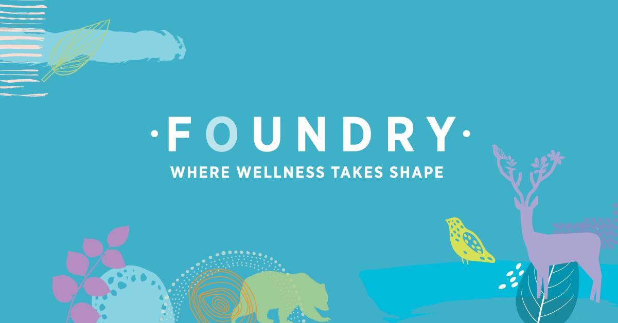 Foundry logo - Kelowna Foundation