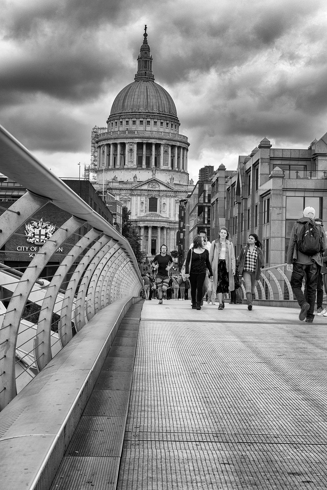 St. Paul's from Millennium Bridge