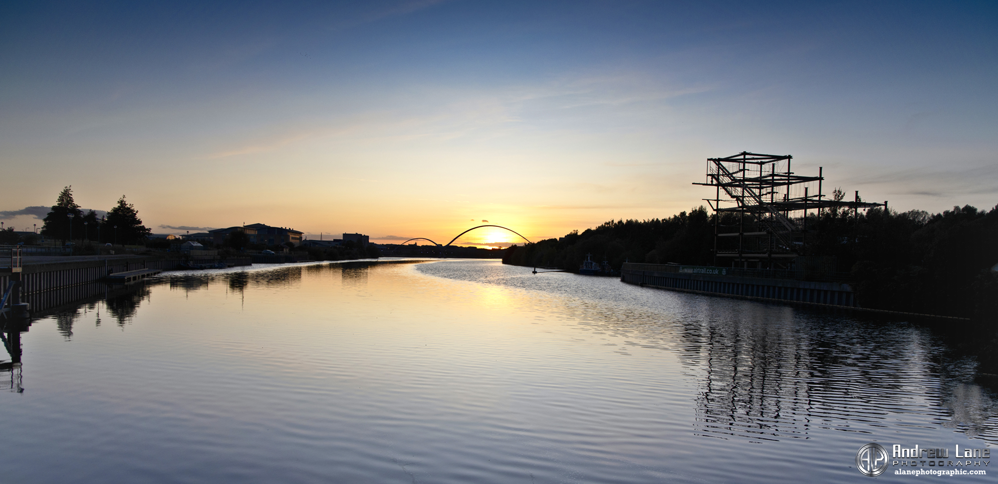 River Tees Sunset