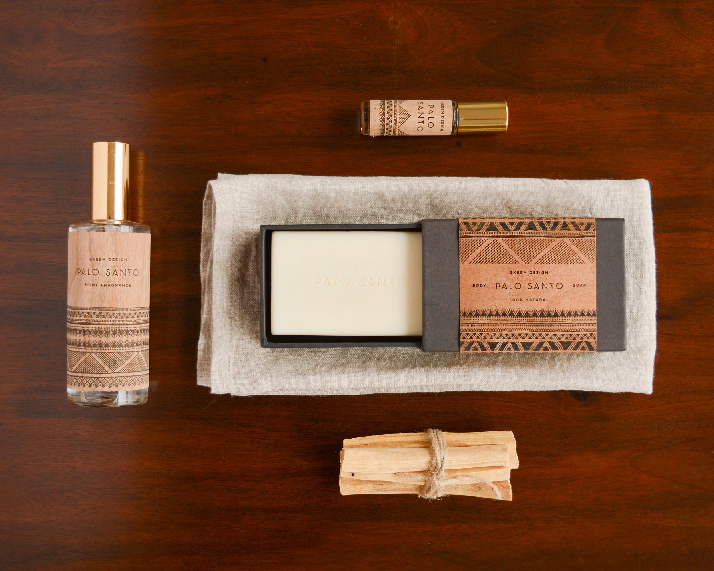 Palo Santo in all the forms by Skeem Designs at Inkling / room spray, essential oil, soap, sticks
