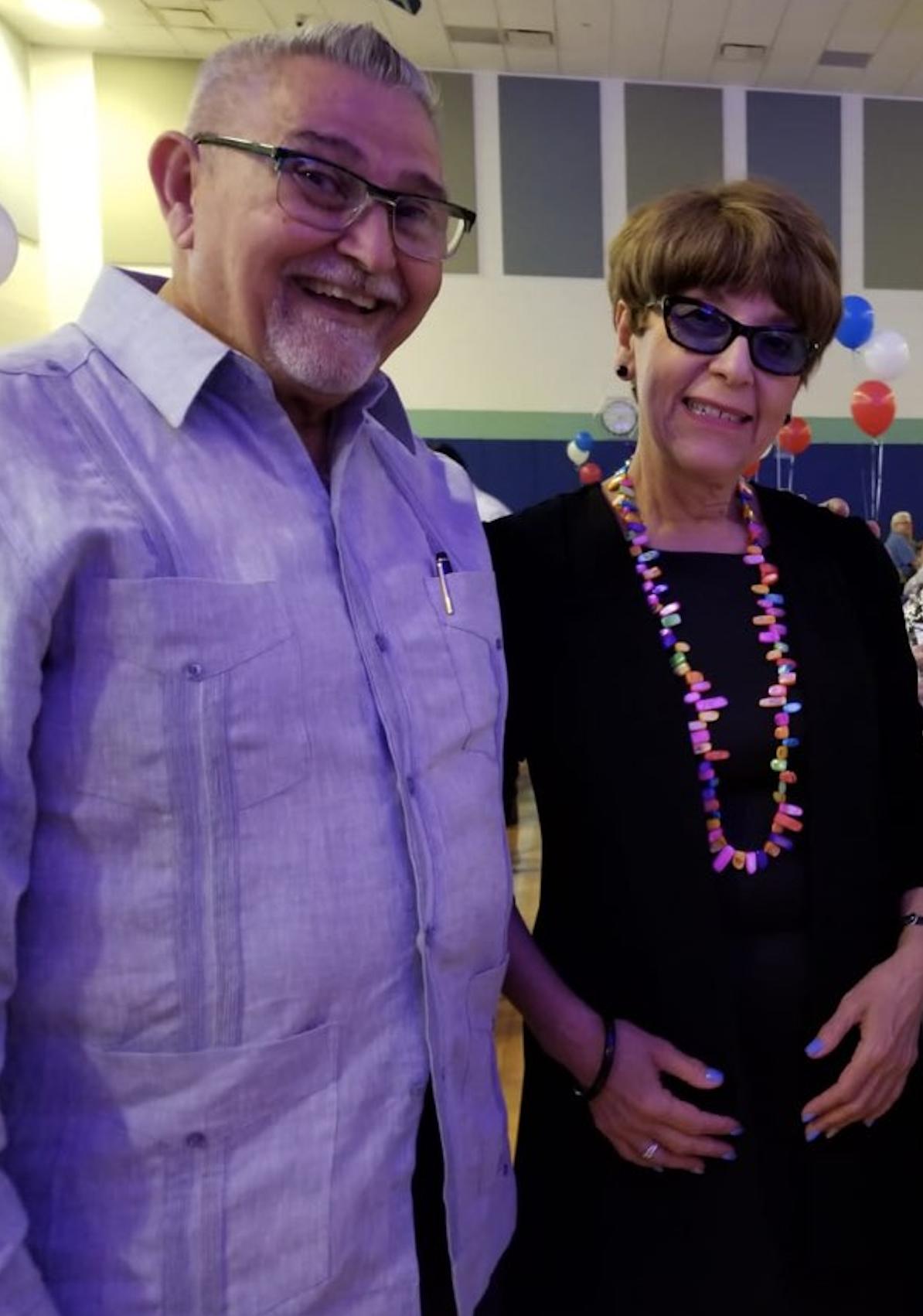 Jorge Luis Seco y Angelica Salomon