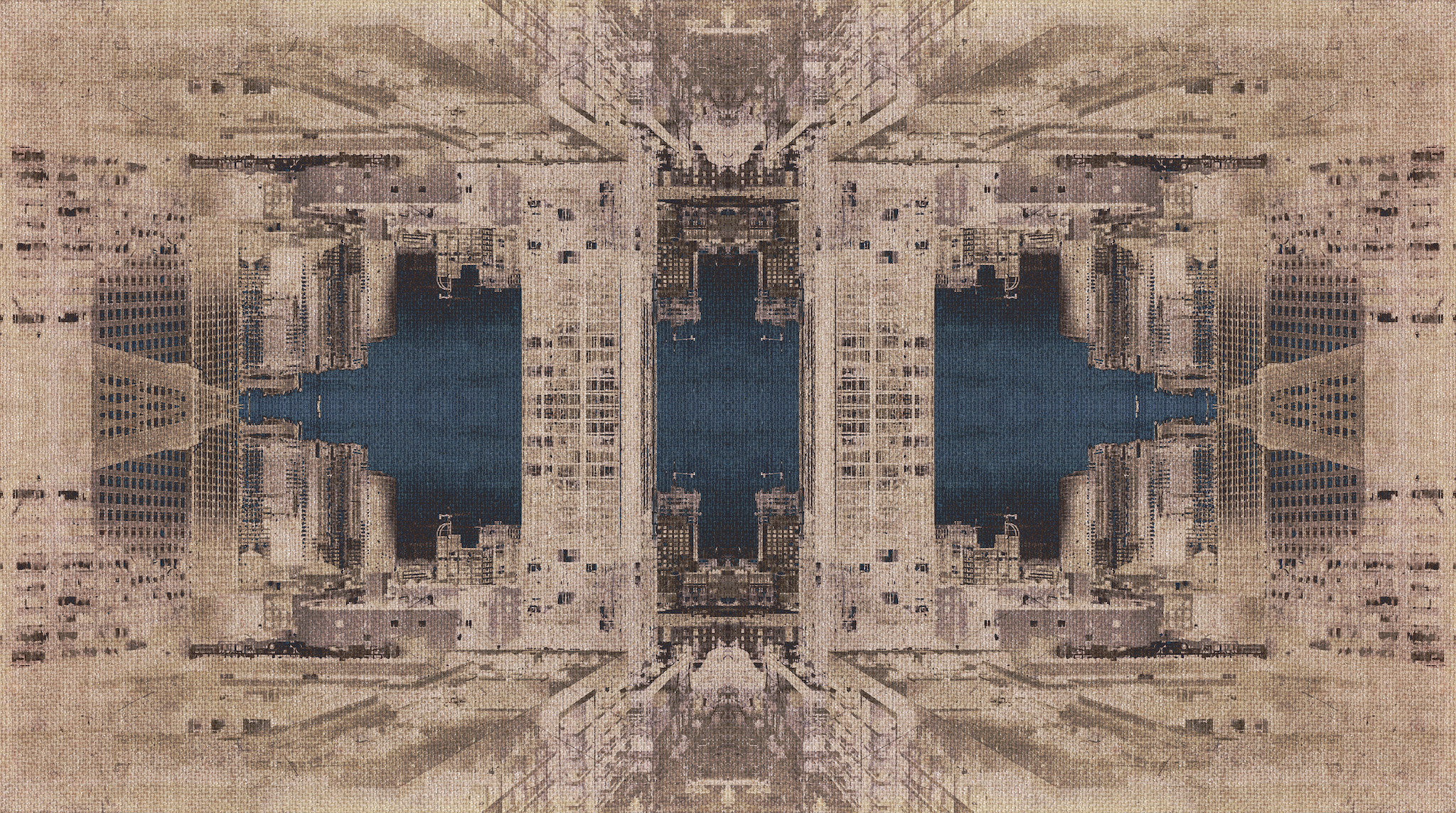 City Tapestry No. 1, 2017 (Available in Signed Limited Editions Only)